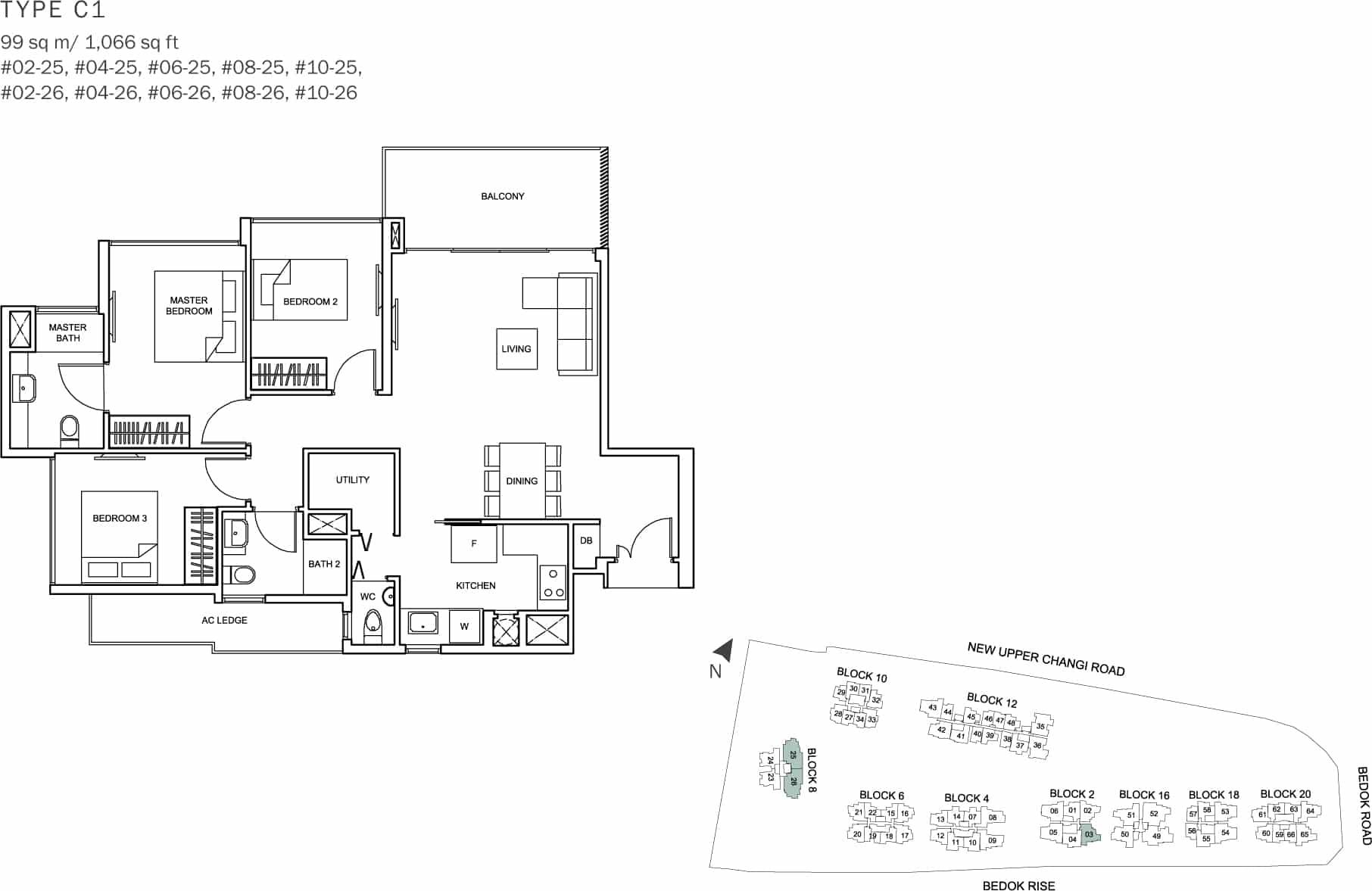 Singapore condo show flat joy studio design gallery for Studio type condo floor plan