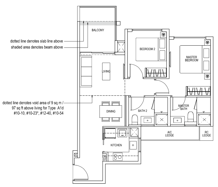 The brownstone ec floor plan singapore new ec launch 2015 for Typical brownstone floor plan