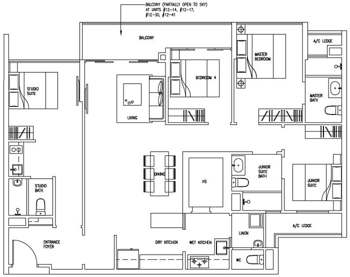 Room Types amp Floor Plans at Morning Star Lodge at Silver