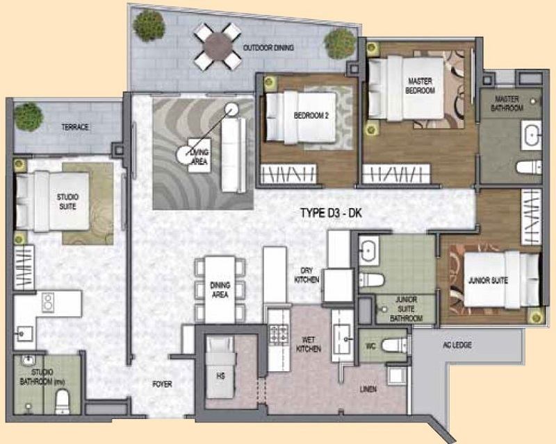One Canberra Ec Floor Plan Singapore Hdb Ec New Ec Launch