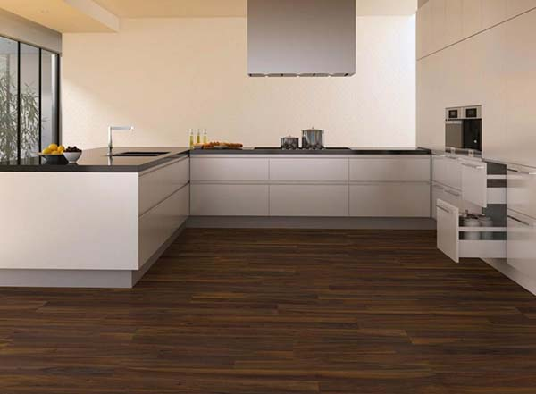 cheap renovation ideas for kitchen - Kitchen-Laminate Floor
