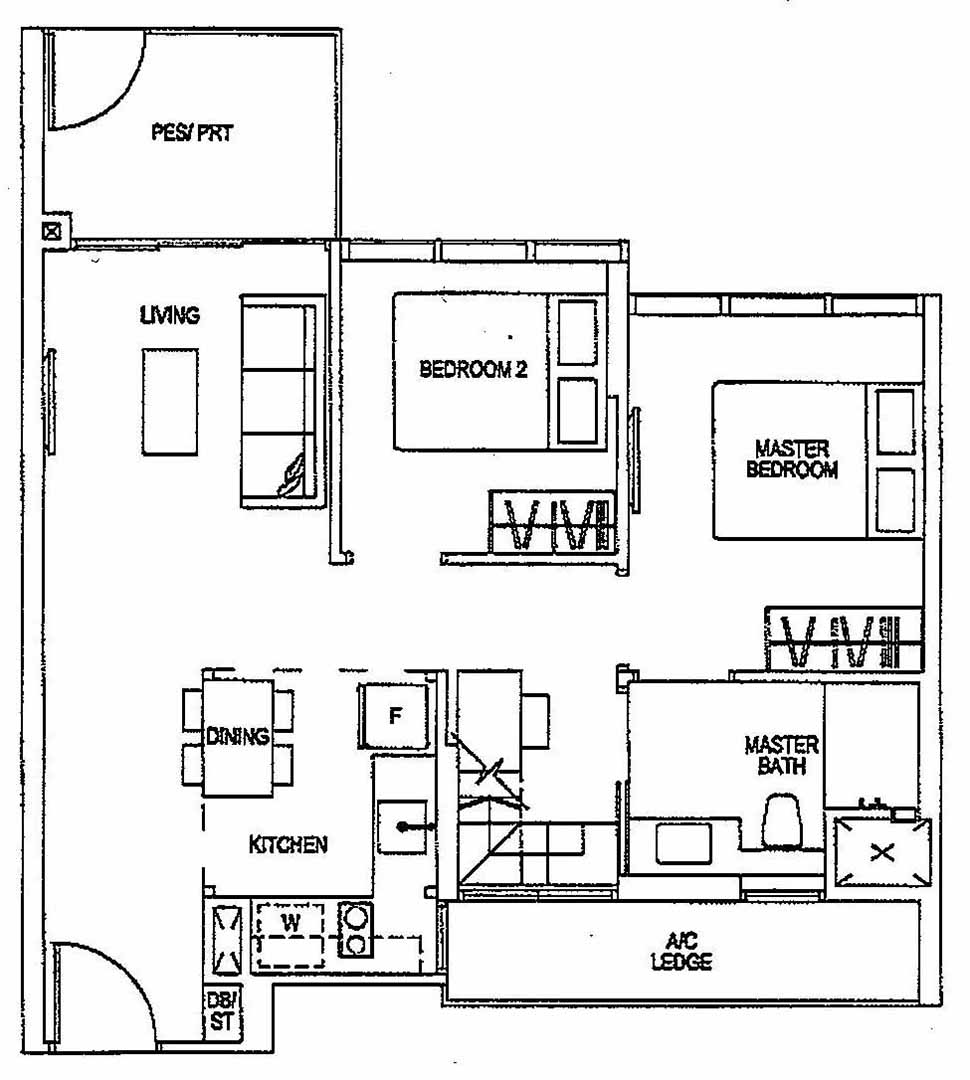 Sitter likewise 304 in addition One Bedroom Apartments as well Characters further Floor Plans. on 2 bedroom deluxe