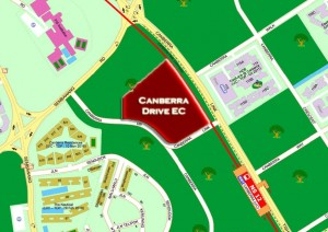 The Brownstone at Canberra Drive - Location Map