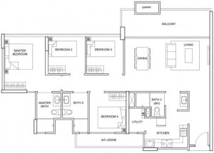 Forestville Ec New Launch Floor Plan 3 Bedroom Dk C13 Dk 117 Sqm Stack 33 3 besides 1038 S Seminole Dr Chattanooga TN 37412 M79606 54951 likewise South Forsyth Family  munity Provides New Model Home as well The Santorini Condo 4 Bedroom D1 117 Sqm 1259 Sqft besides Choa Chu Kang Drive. on dream home realty