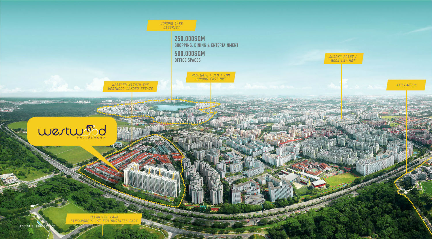 Jurong Masterplan with Callouts