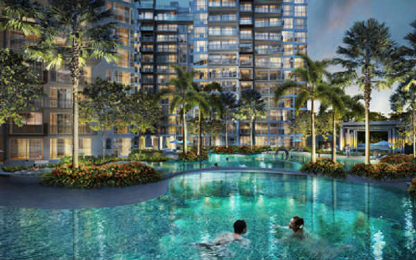 One canberra ec site plan singapore hdb ec new ec launch for Swimming pool site plan