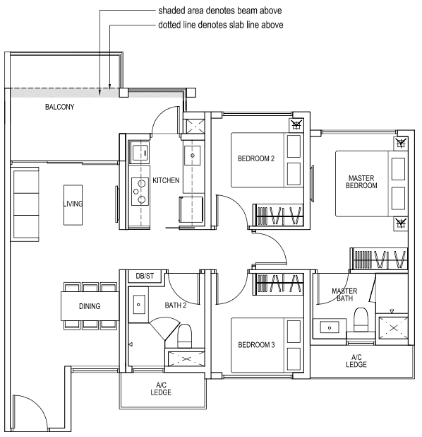 The brownstone ec floor plan singapore new ec launch 2015 for Brownstone building plans