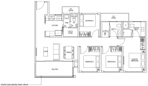 The Brownstone Floor Plan