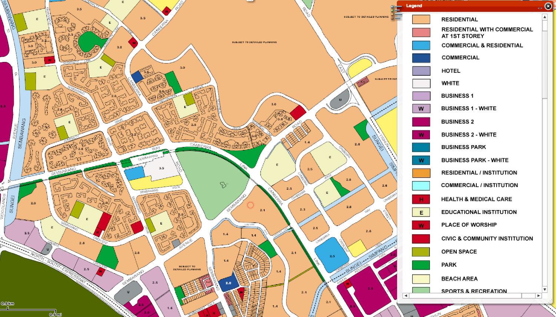 The Visionaire EC URA Map