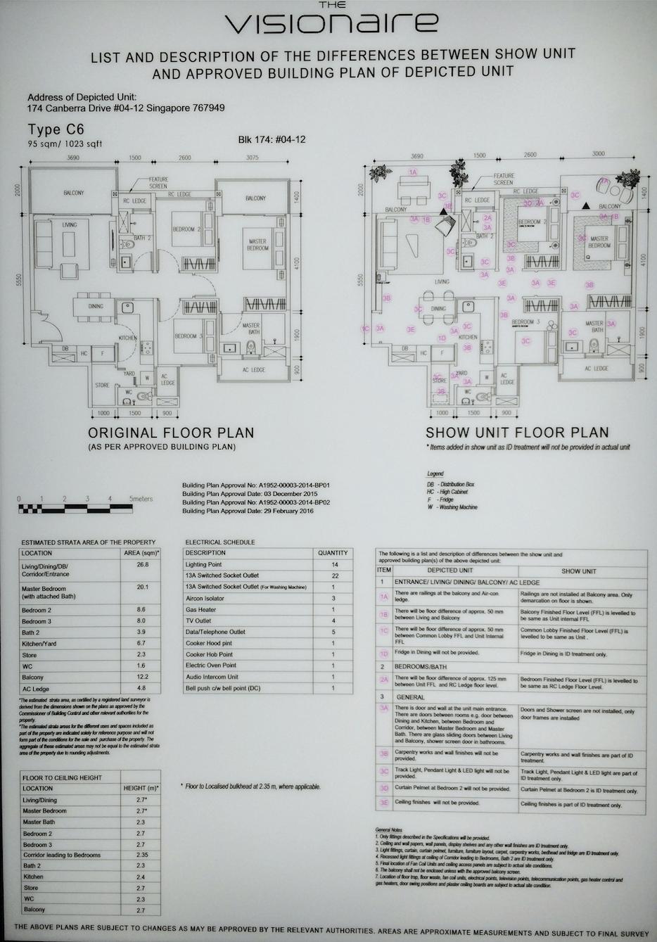The Visioniare EC Showroom Unit 3 Bedroom Premium C6 95 sqm 1023 sqft 2