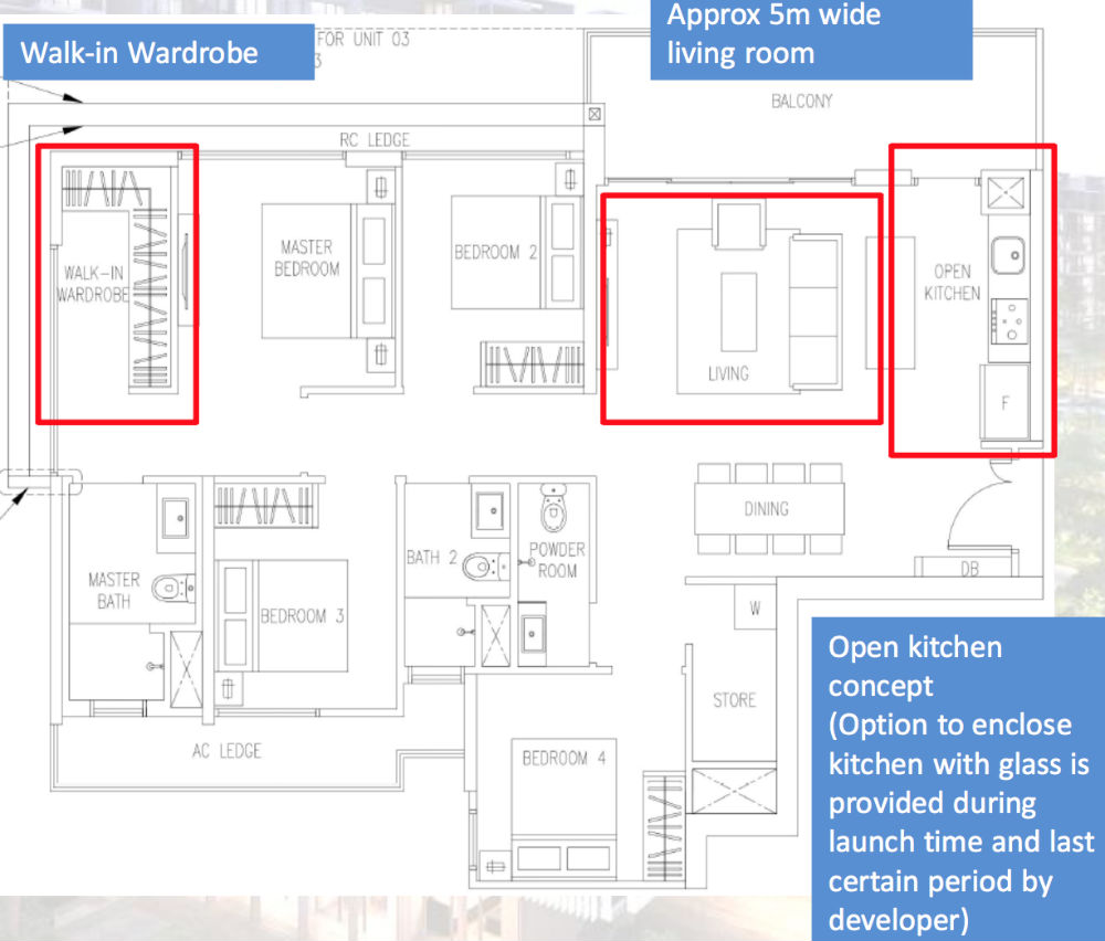 The Visioniare EC Showroom Unit 4 Bedroom D2 122 sqm 1313 sqft