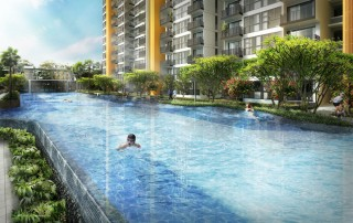 Westwood Residences EC - 50M Lap Pool & Aqua Gym
