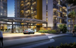 Westwood Residences EC - Entrance Drop Off