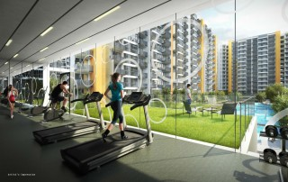 Westwood Residences EC - Indoor Gym