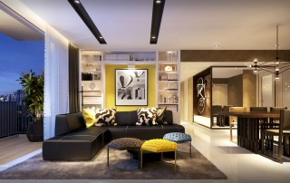 Westwood Residences EC - Living & Dining