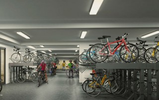 Westwood Residences EC - Secured Covered Bike Garage